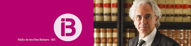 'Justícia i administració de justícia' de Sebastià Frau i Gaià a IB3 Ràdio