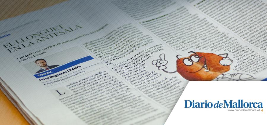 'El llonguet en la antesala', un article de Josep Magraner a Diario de Mallorca