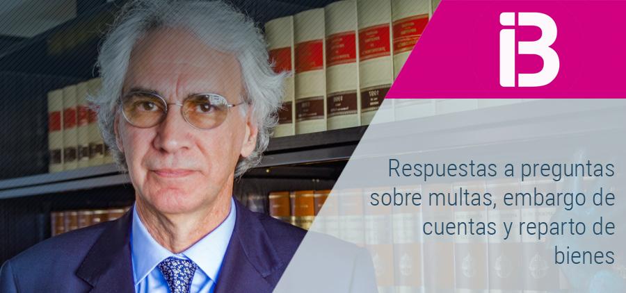 Reparto de bienes, pago de multas y embargo de cuentas entre las preguntas a Sebastià Frau en Al Dia, de IB3 Ràdio