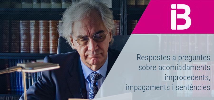 Sebastià Frau respon a dubtes sobre acomiadaments improcedents, impagaments i sentències a Al Dia, d'IB3 Ràdio